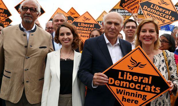 Eine Umfrage sieht die Liberaldemokraten als Nummer eins in Großbritannien.