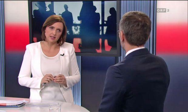 Mit dem Interview von Innenminister Herbert Kickl begann eine Auseinandersetzung.