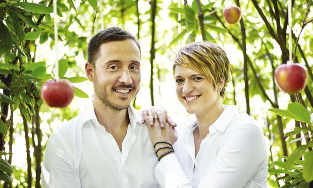 Goldkehlchen-Gründer Adam Ernst und Eva