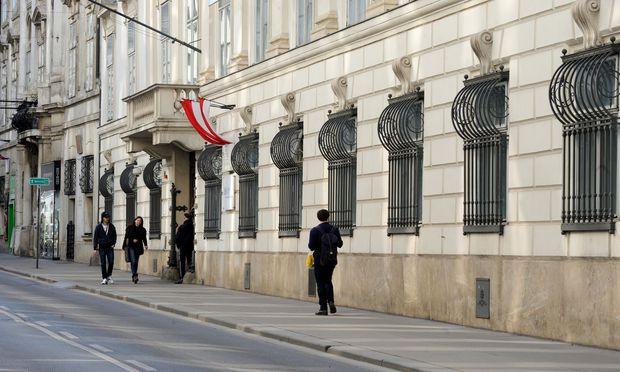 Blick auf das Innenministerium