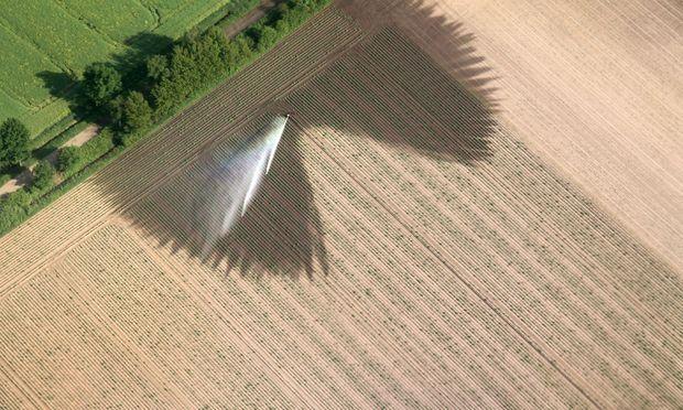 Landwirtschaft von oben. Der Satellit sieht Entwicklungen und Fehlentwicklungen auf den Feldern früher als der Bauer selbst.