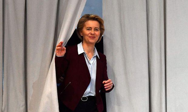 Archivbild der wohl künftigen EU-Kommissionspräsidentin Ursula von der Leyen.