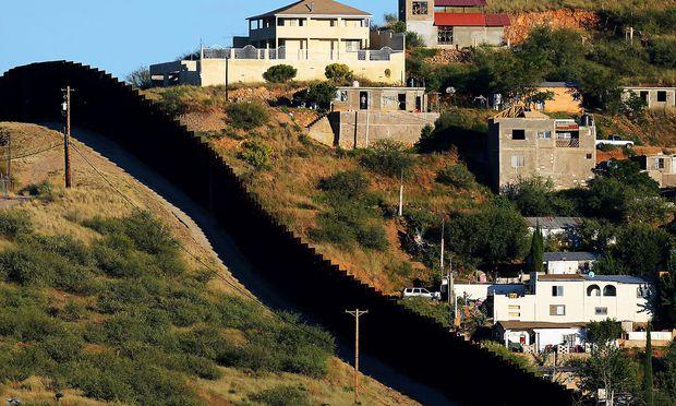 Grenze USA-Mexiko / Bild: REUTERS