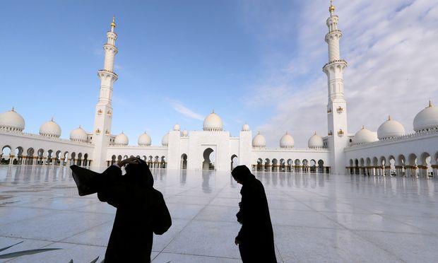 Die Scheich-Zayid-Moschee.