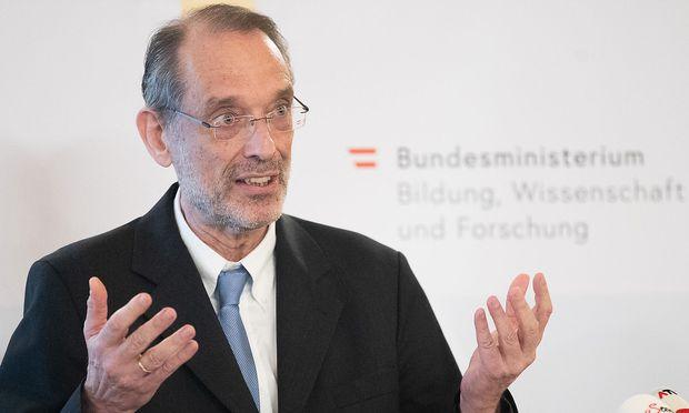 Bildungsminister Heinz Faßmann. / Bild: APA/GEORG HOCHMUTH