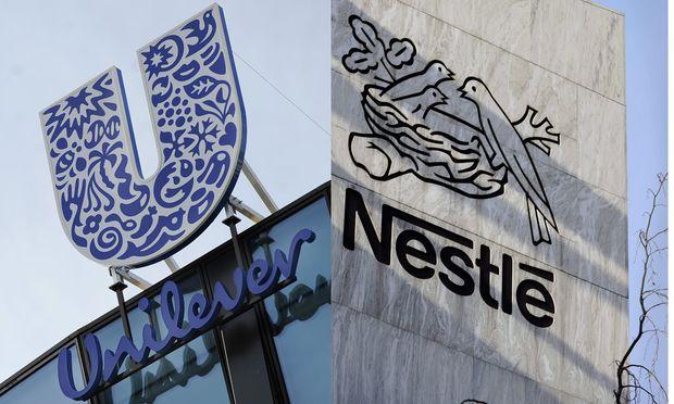 Unilever waechst schneller Marktfuehrer