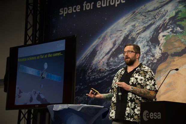 Matt Taylor, Rosetta-Chefwissenschaftler