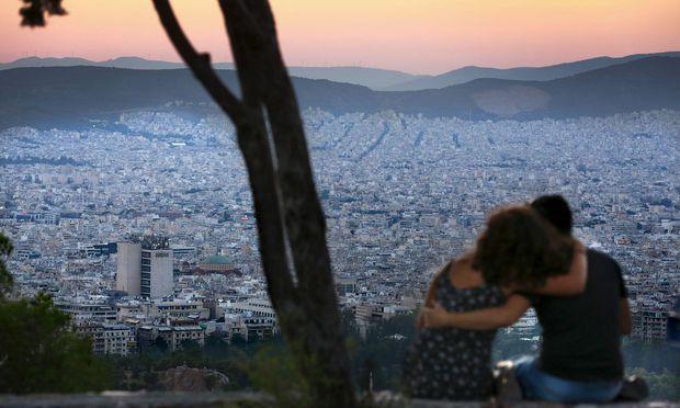 Die Griechen schauen nach den jüngsten Beschlüssen in Brüssel mit Hoffnung in die Zukunft.
