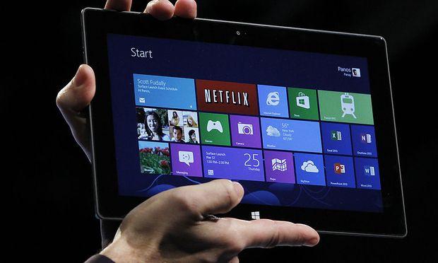 Windows Schleppender TabletStart