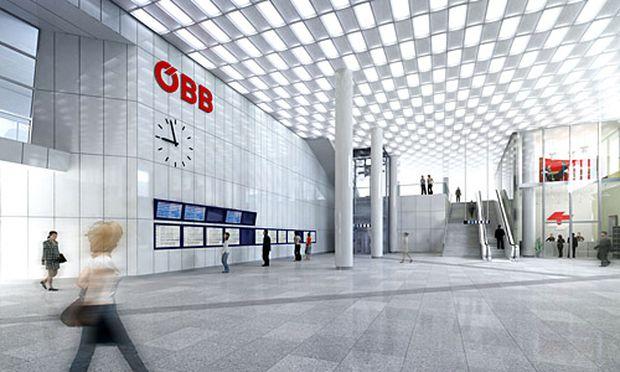 Wiener Hauptbahnhof Meter UBahn
