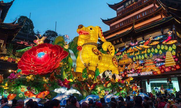 Neujahrsfest: Warum China demnächst Rot sieht « DiePresse.com