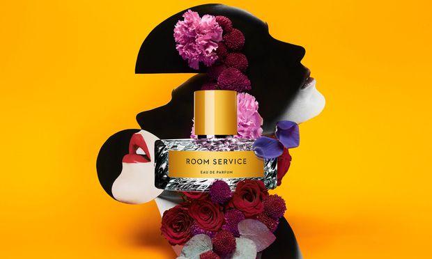 """Bitte läuten. """"Room Service"""" von Vilhelm Parfumerie, 100 ml um 210 Euro, exklusiv bei Le Parfum am Petersplatz in Wien."""