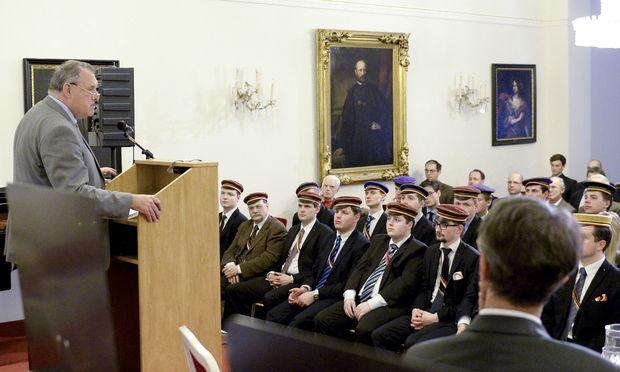 Archivbild: Wilhelm Braueneder leitet die Historikerkommission.