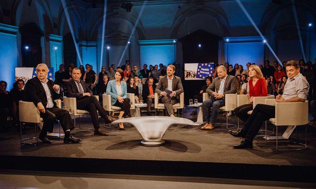 EU-Talk-Spezial auf Servus-TV