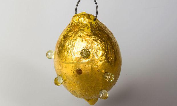 """Humorvoll. Eine """"Goldene Zitrone"""" von Petra Zimmermann."""