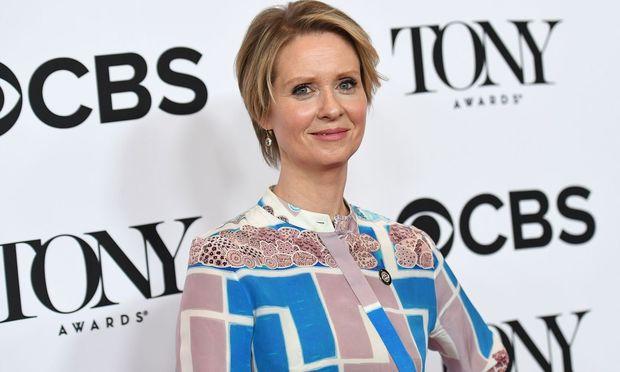 """Zwischen 1998 und 2004 spielte Nixon in der HBO-Serie """"Sex and the City"""" die Anwältin Miranda Hobbes."""