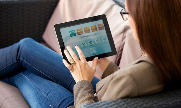 Symbolbild einer Smart Home Anwendung.