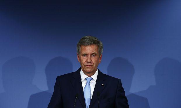 Deutschlands ehemaliger Präsident Christian Wulff
