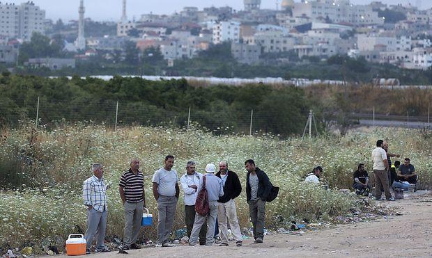 Palästinensische Arbeitsmigranten