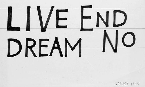 """Körpersprache. Gesten stehen im Mittelpunkt der Schau """"Live End Dream No"""" in der Galerie Steinek."""