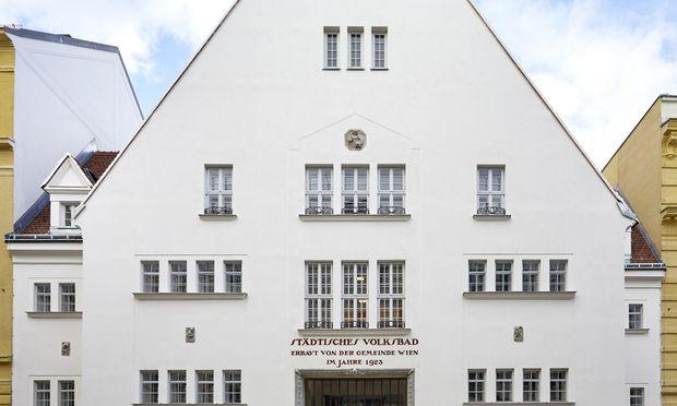 Rundum erneuert: Ehemaliges Tröpferlbad mit 21 neuen Wohnungen.