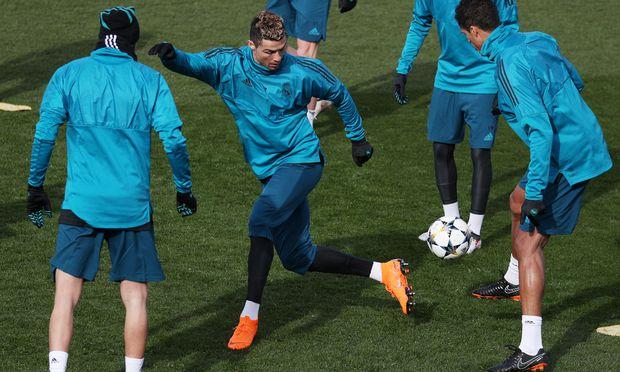 Cristiano Ronaldo ist in Spiellaune, auf ihm ruhen die Hoffnungen gegen PSG.