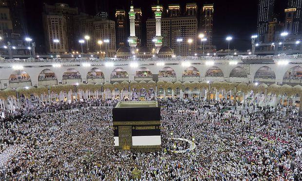 Unter den Millionen Pilgern in Mekka wird man kaum Iraner finden.