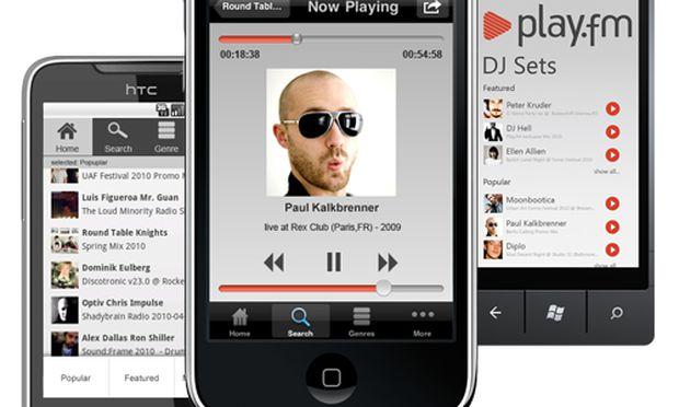 Playfm KonzertMitschnitte DJSets Handy