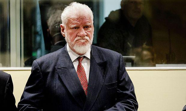 Slobodan Praljak vor dem UN-Tribunal