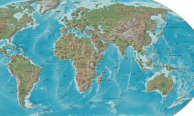 neuseeland karte Neuseeland will auf Karten nicht mehr vergessen werden « DiePresse.com