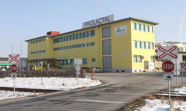 Archivbild: Ein Blick auf das Gelände der Firma Prolactal