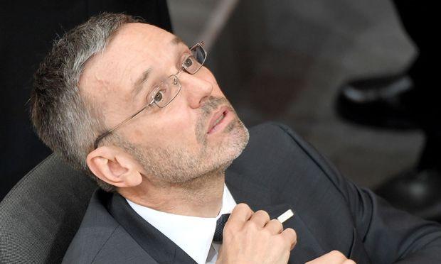 Herbert Kickl (FPÖ), Ex-Innenminister