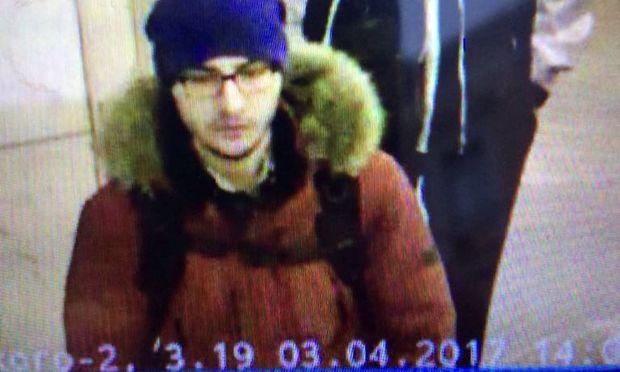 Ein Handout-Bild des mutmaßlichen Attentäters Akbarschon Dschalilow.
