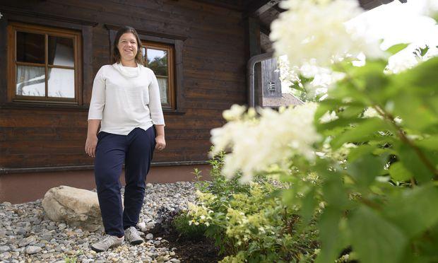 Die Autorin Julia Friedrichs – hier beim Europäischen Forum in Alpbach – beschäftigt sich unter anderem mit den Fragen Bildungschancen und Elite.