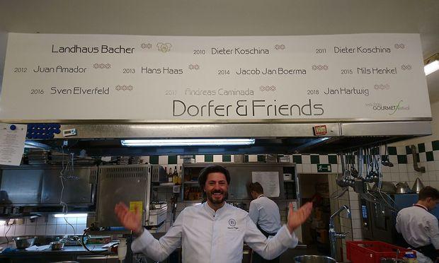 Thomas Dorfer im Landhaus Bacher