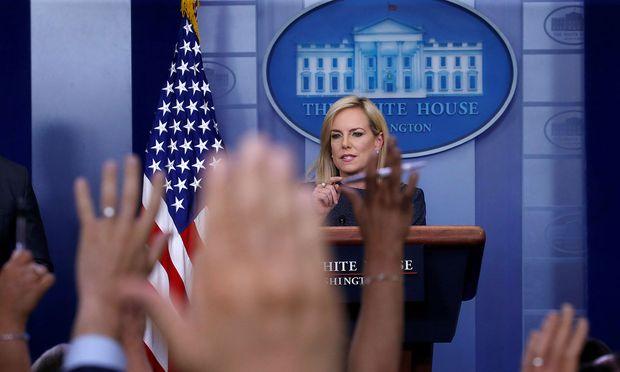 Trump feuert seinen Chef des Secret Service - Medien