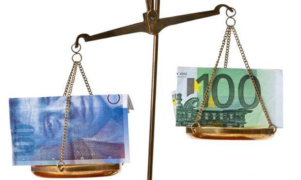 Schweiz stellt Stuetzung Euro