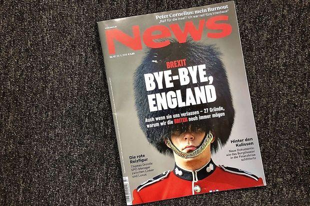 """Das Cover der aktuellen Ausgabe von """"News""""."""