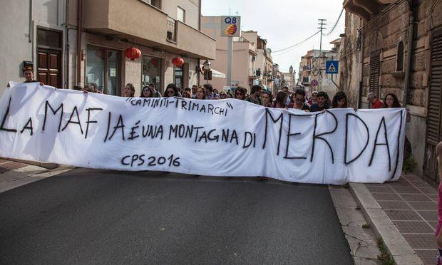 Proteste gegen die Mafia