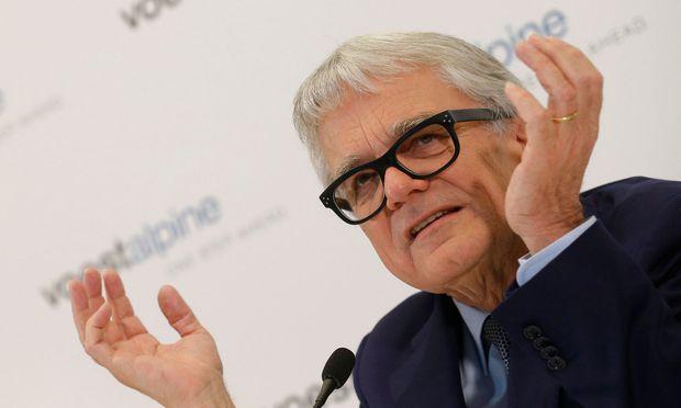 Voestalpine-Chef Wolfgang Eder geht nächstes Jahr in Pension