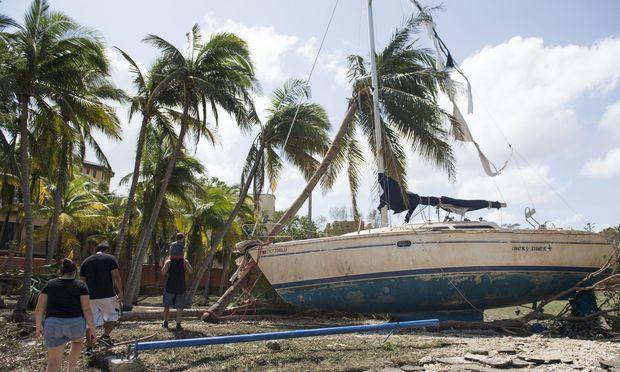 Hurrican Irma hinterließ Milliardenschäden