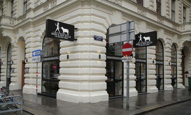 Mama & der Bulle hat in der Wiener Innenstadt eröffnet.