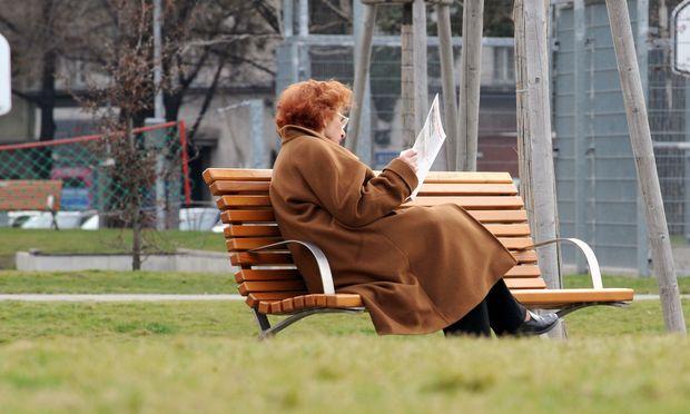 Symbolbild: Pensionistin