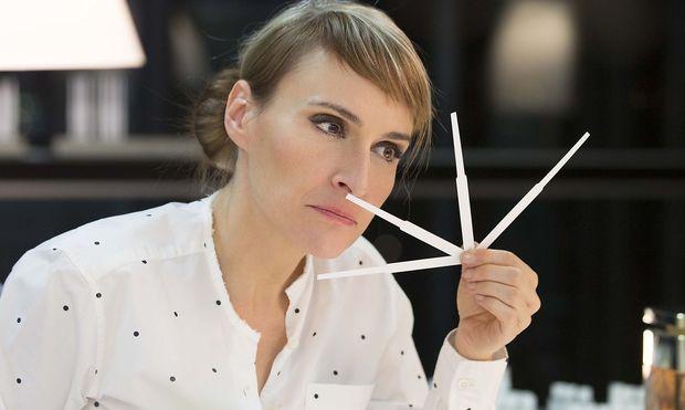 Mathilde Laurent in ihrem Pariser Büro