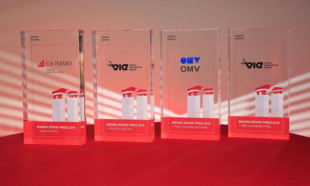 Am 23. Mai 2019 fand die alljährliche Verleihung des Wiener Börse Preises.