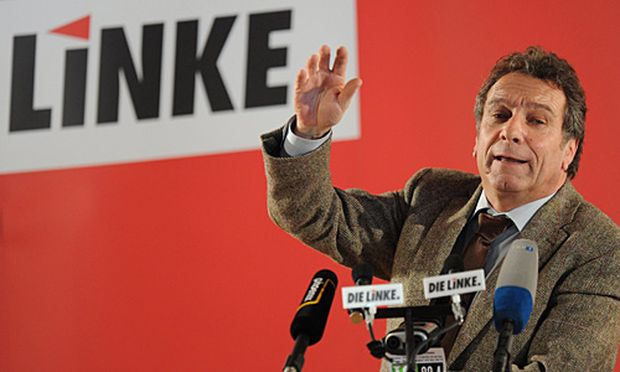 Linke-Parteichef Klaus Ernst