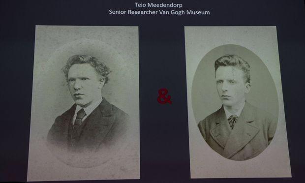 Gesichtsanalysen bestätigten , dass nicht Vincent, sondern sein Bruder Theo abgebildet ist.