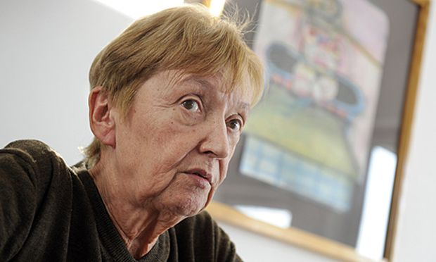 Christine Noestlinger habe genug