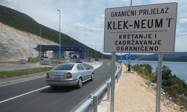 Kroatien Laengste Aussengrenze