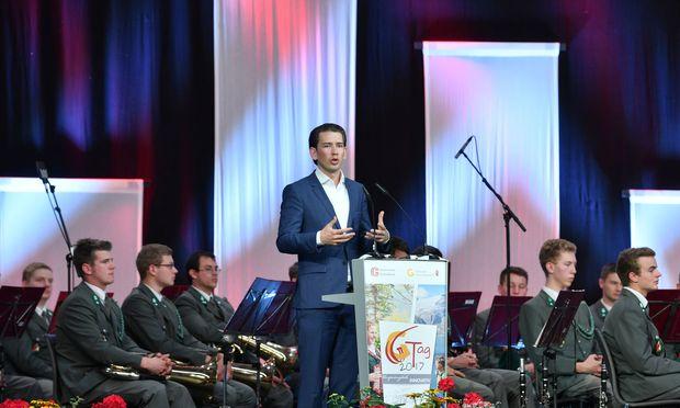 Sebastian Kurz wird heute in Linz zum 17. Parteiobmann der Volkspartei gewählt.